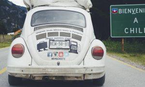 Viajar en auto por Latinoamérica.