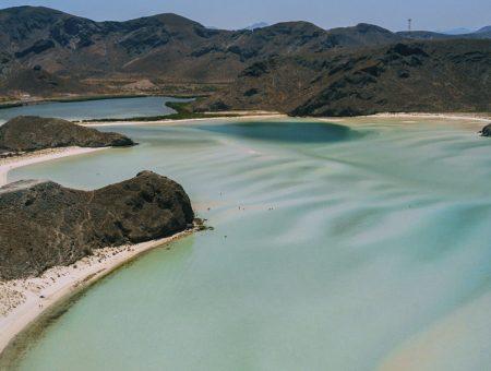 La playa más bonita de México.